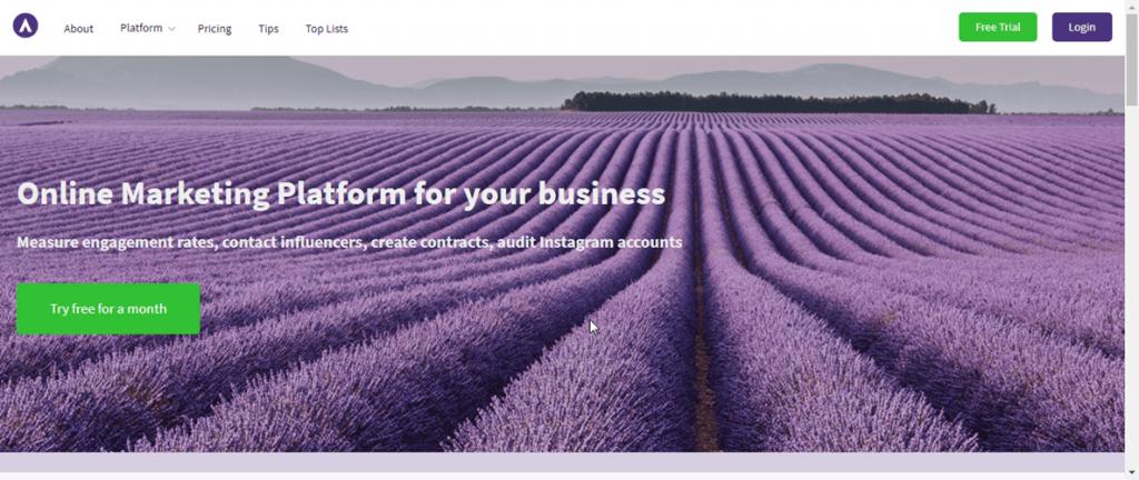 Phlanx ابزار بازاریابی شبکه اجتماعی