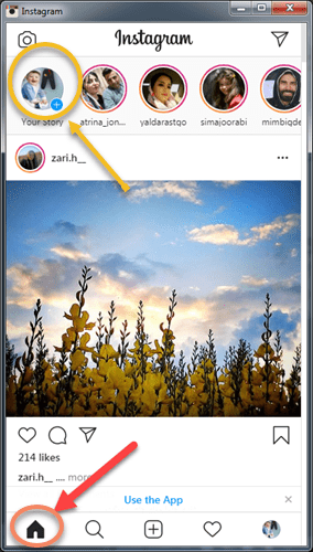 این تصویر دارای صفت خالی alt است؛ نام پروندهٔ آن instagram-home-min.png است