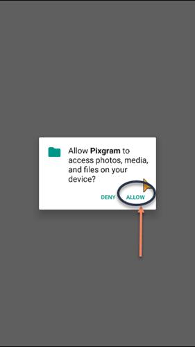 این تصویر دارای صفت خالی alt است؛ نام پروندهٔ آن pixgram-allow-access-file.png است