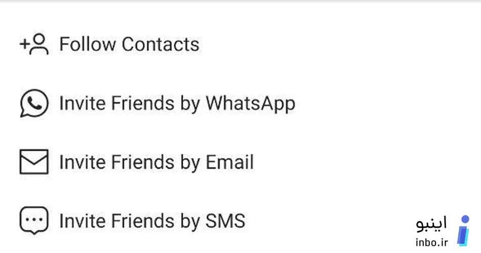 follow contacts
